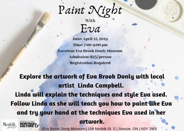 Paint Night with Eva