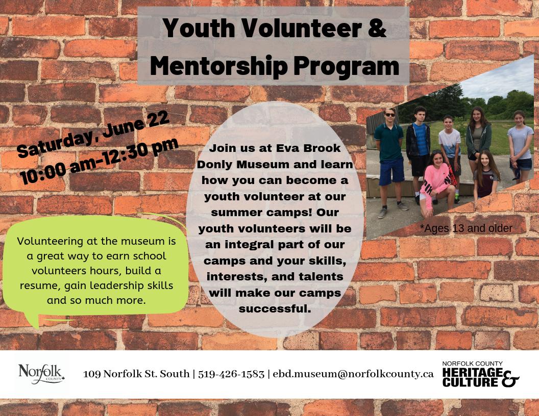 Youth Volunteer Program