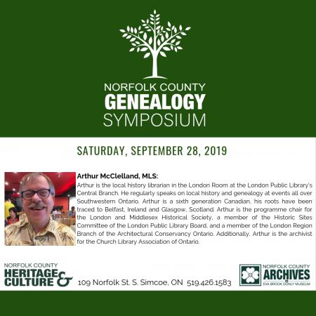 Genealogy Symposium Session #3