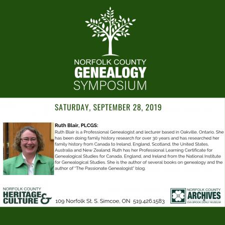 Genealogy Symposium Session #4