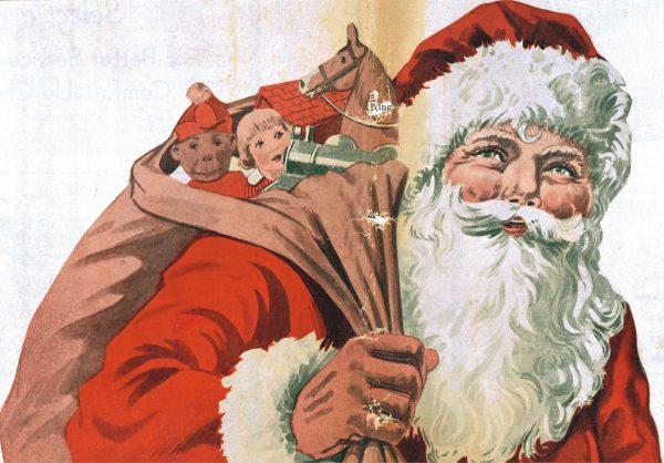 Santa Claus at the Museum